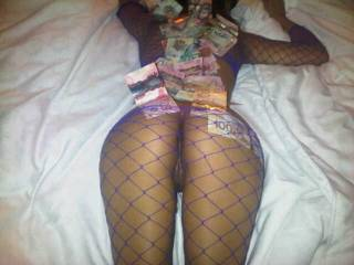 """Wifey and I had a stripper fantasy, the more money i\'d give her the more she\'d """"do"""" =) such and amazing role playing night. would love to ad another lady to our next play night."""