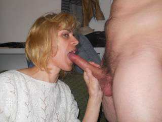 I want one to....bet she loves cum