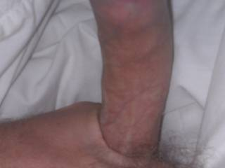 Laying in bed wanting somewhere to cum ladies.