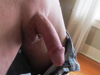I want to wrap my lips around your cockhead and suck on it as I tug on your cock and fondle your balls.  I won't let go of your cock until I get you to cum in my mouth.... MILF K