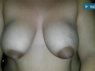 Horny wife satisfied by husband pre-xmas! She loves riding him hard and loves her big natural boobies satisfying her husband. #homemade #couplesex #leavecomments #tellherwhatyouwant