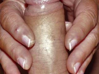 two hand finger hand job