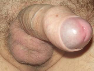 gaawd i'd love to see it from that point of view in person...playing with the foreskin with my tongue...so hot!