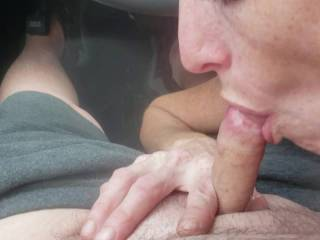 Tink gives me a blow job