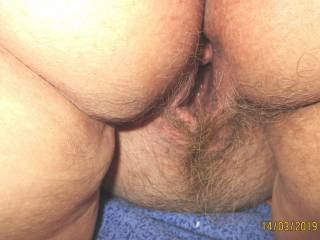Hairy Pussy & Butts
