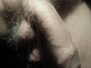 I wanted to make a close up from my penis and balls at rest and before shaving them a bit