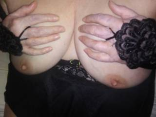 Who wants to cum on these Tennessee mature tits?