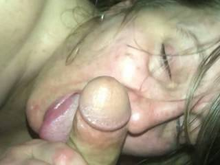 This video is of my boyfriend and me having sex for the first time.  I love sucking dick and I love when a man ejaculates in my mouth.  When I suck dick I try not using my hands and I love taking a cock entirely in my mouth.