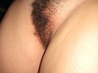 Mmmmmm, we would love to beat around the bush...with her.  Mmmmm, that's such a sexy pussy.....hair or no hair....we would still love playing with her and that hot pussy.  K & G