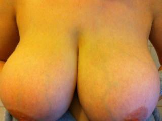 OMG! Such perfection!!! Love how full they are and such perfect nipples and areola!
