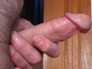 Stroke, lick, and suck are my choices for that cock.