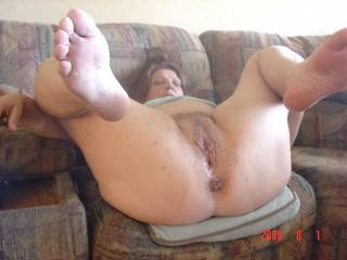 I love her big cunt and asshole! I would love to fill them both with my big fat cock!