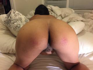 wife ready to take cock in her ass