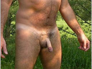 Showing my little dick with a trim job