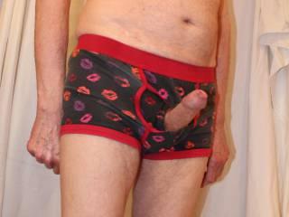 So horny and so very erect.