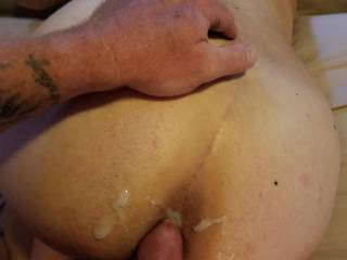 My shy conservative wife getting fucked mercilessly from behind while talking like a dirty whore. She got what she wanted and what she deserved. Comments?