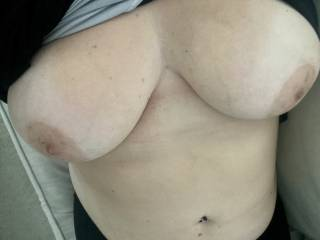 Long time no see. Who wants to suck and cum on them?