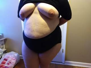 My bbw wife needs to know how she makes you feel. Comment please.