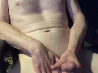 after several hours of edging with a dildo in my ass, squirt and shot a nice big load