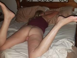 Getting ready to eat her delicious ass and pussy