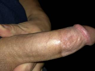 This hard cock was listening to his friends wife masterbate and needed to shoot a big load.