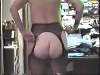 "A request from ""fodeny"" to see me in my black nylons! This is part of a 4 hour masturbation marathon I recently did on a dare from some guy friends! Can you say ""multiple orgasms""? Holy crap I had a lot of them!"