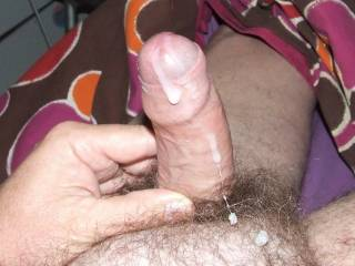 Love your cock, would love to make it spurt. Nothing nicer that an uncut cock with cum coming out of it.