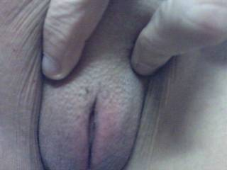 My beautiful wife has the hottest tight bold little pussy