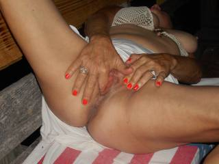Move your hand and let me finish you with my throbbing hard cock!