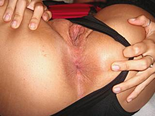 Pick a hole and satisfy her!