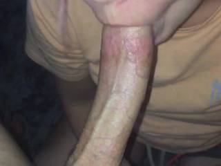 Heads everywhere, in a hurry, horny as hell, pussy dripping, Dick rock hard, on webcam, user requested a facial and the timing and thickness of it was disappointing but we still got a tip and my balls emptied.  Look how eager she was to eat it! cum fiend