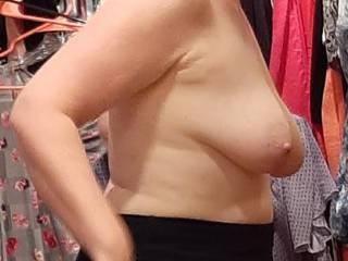 Like me topless? 😈