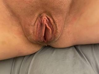 Puffy open pussy