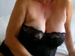 Mrs Gozap and her new lingerie...check it out..