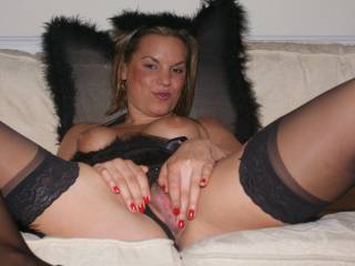 Our naughty fairy loves playing with her pussy! xxx