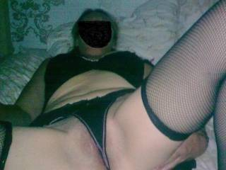 mmmmm first let me eat that hot pussy panties and all then i'll pull them aside and stick my cock into your hot body
