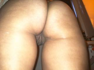 tell me how beautiful is that fat butt and pussy yum yum?*