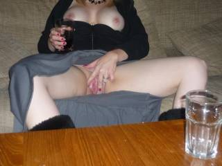 tease her pussy