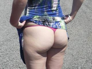 I thought I saw that incredible ass at the truck stop lol I drive a truck and have seen a few sites