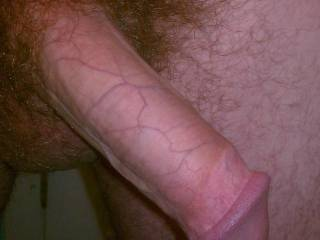 Your gorgeous dick makes my pussy so wet... If only you could see how much i want you to stretch my hot tunnel with your big cock RIGHT NOW!!!