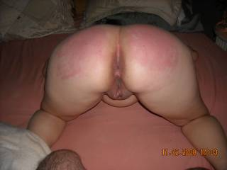 yup mrs phukkinnutz enjoys a good spanking