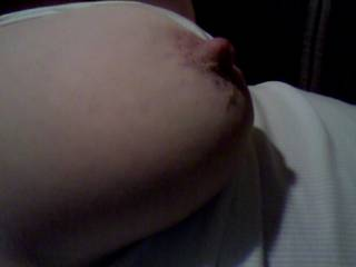 Love to be sucking on that lovely nipple and then wrapping those girls around my cock.