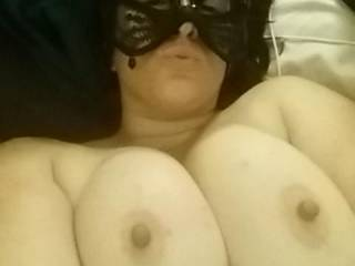 Would you like to feel my big hard cock between your big beautiful tits?
