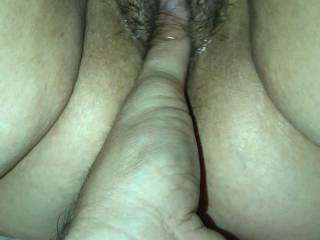 Storms Moist Hairy Pussy