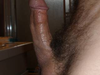 Let me know what you think of my thick, veiny dick.