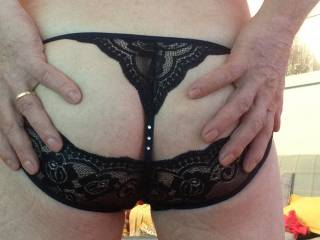New black panties