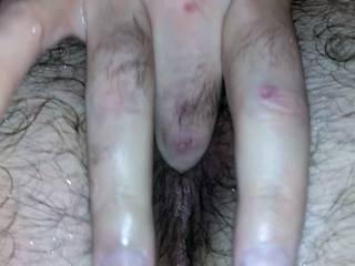 Bisexual male stimulating my prostate