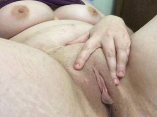 Shaved my pussy yesterday... I love how exposed it makes me feel. What do you think?