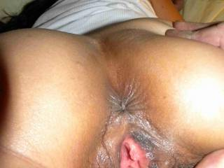 Closeup of myself.  My husband\'s best friend fucked mE real good that day!