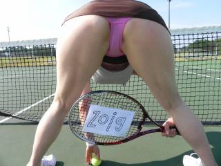 anyone for a pick up game? i promise to bend over A LOT ;-)
